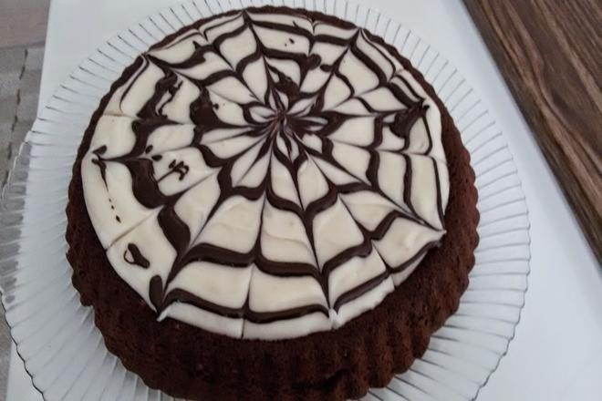 Tart Kalıbında Kremalı Kek Tarifi